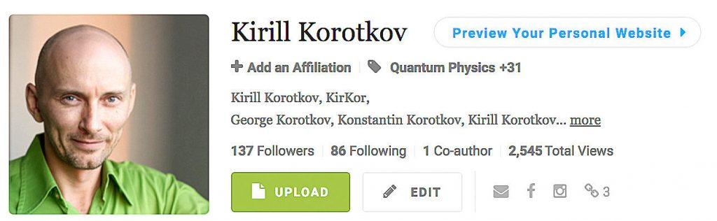 Korotkov's knowledge base