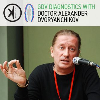 GDV Diagnostics with Dr. Alexander Dvoryanchikov