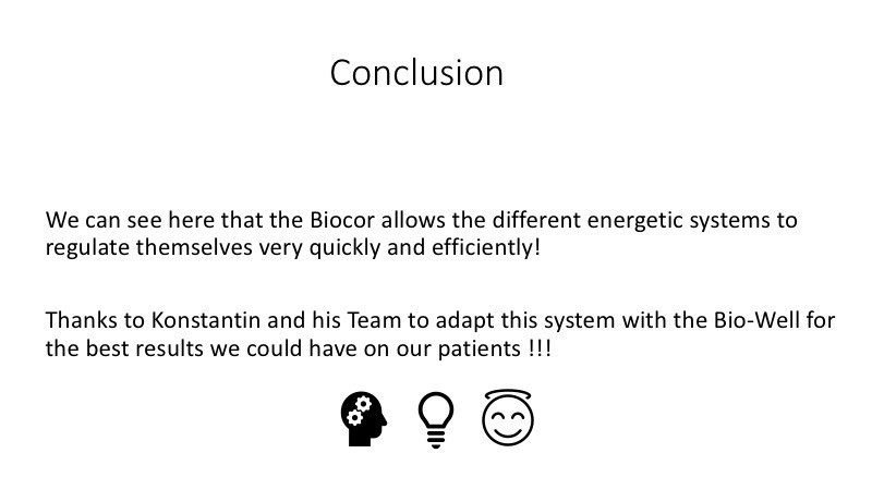 GDV Biocor effect, Conclusion