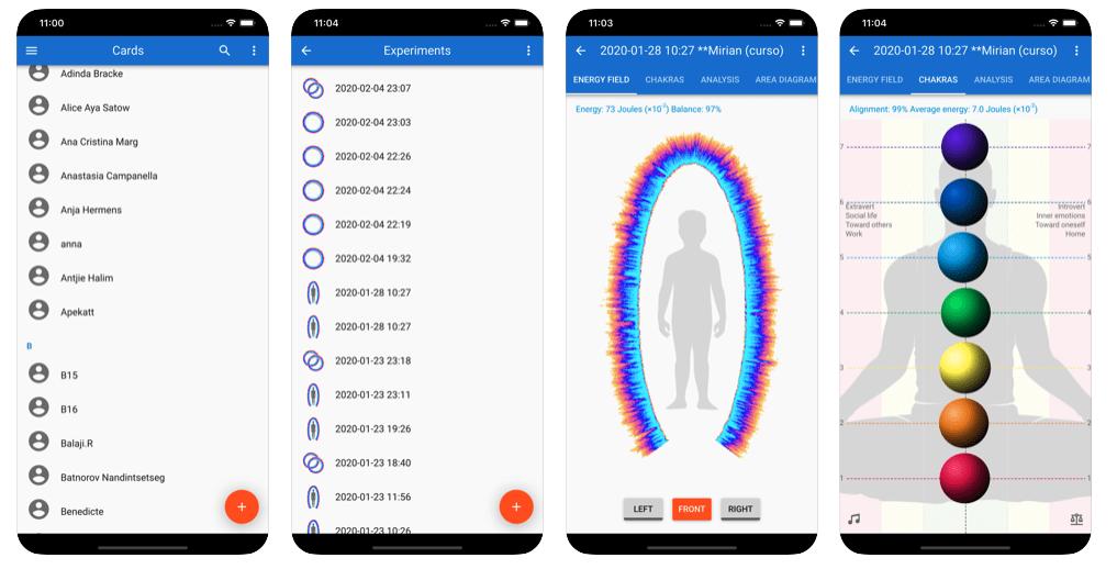 GDV Bio-Well app